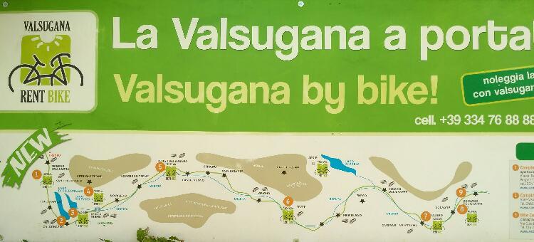 Radweg Valsugana