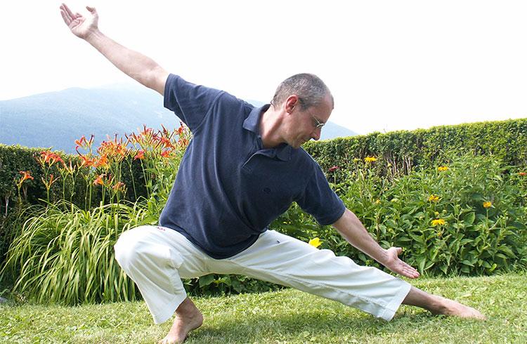 Qi gong training