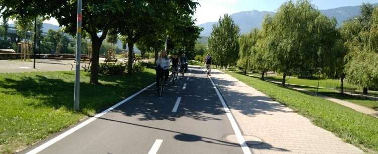 Radweg Bozen