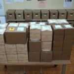 viele Pakete zum Versenden