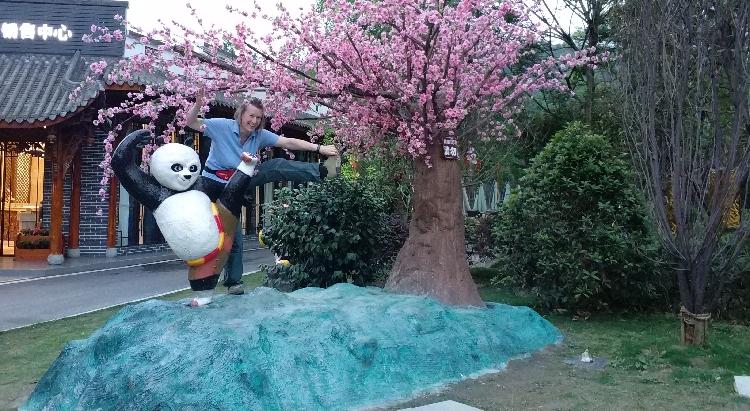 Doris und Kung Fu Panda