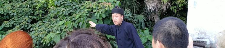 unterricht in einem taoistischen kloster