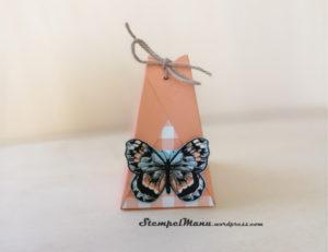 Verpackung mit Schmetterling