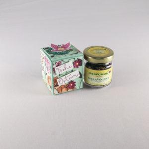 Räuchermischung Ostern - Seelenbalsam - Verpackung kl Glas