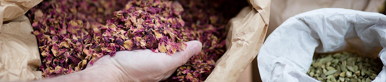 rosenblätter zum räuchern