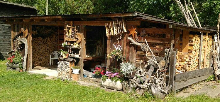 Schöner Holzschupfen