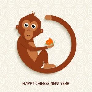 2016 Chinesisches Jahr des Affen